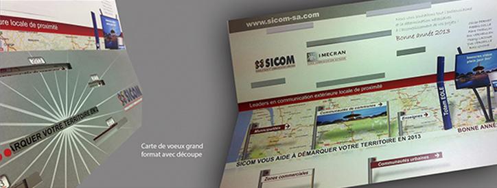 Carte de voeux SICOM